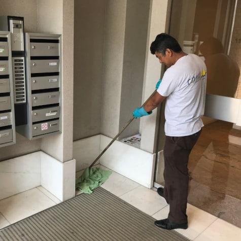 Nettoyage de communs d'immeubles